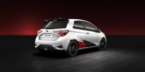 new yaris rear