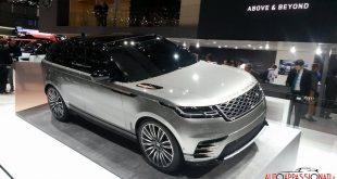 Range Rover Velar al Salone di Ginevra 2017