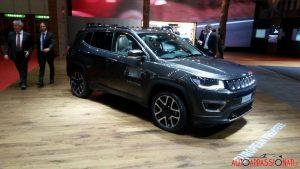 Jeep Compass al Salone di Ginevra 2017