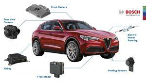Le tecnologie Bosch a bordo di Alfa Romeo Stelvio