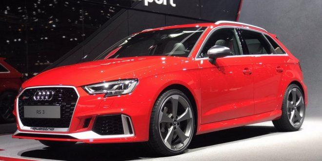 Audi RS 3 Sportback al Salone di Ginevra