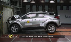 5 stelle Euro NCAP per il Toyota C-HR