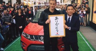 Suzuki Vitara S a Joe Hart