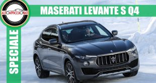Maserati Levante S: ice test con Alex Fiorio [Video]