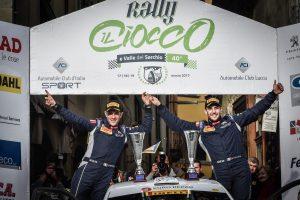 Pollara al Rally Il Ciocco 2017