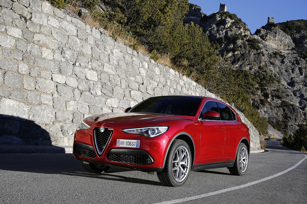 Novità per Alfa Romeo Stelvio