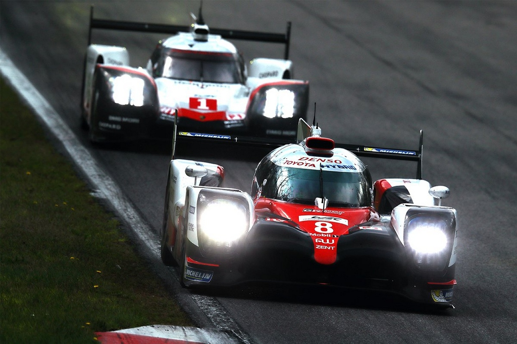 Toyota e Porsche sugli scudi al prologo WEC di Monza