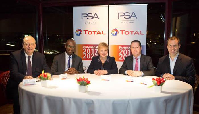Gruppo PSA e Total