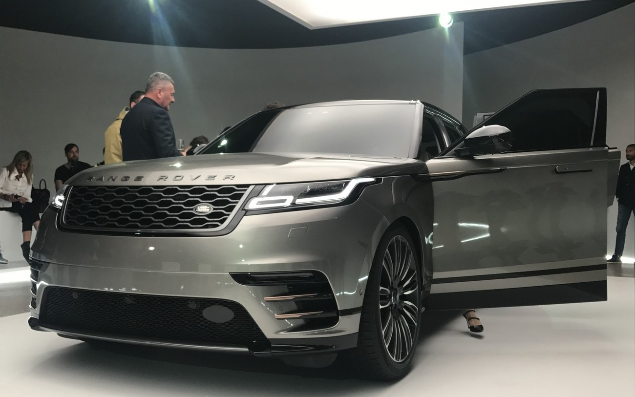 Land Rover alla Design Week