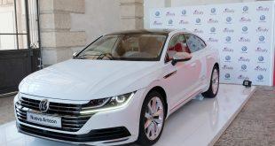 Anteprima italiana di Volkswagen Arteon al Vinitaly
