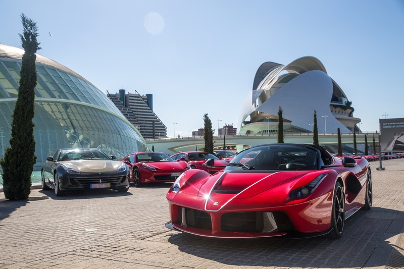 Ferrari a Valencia