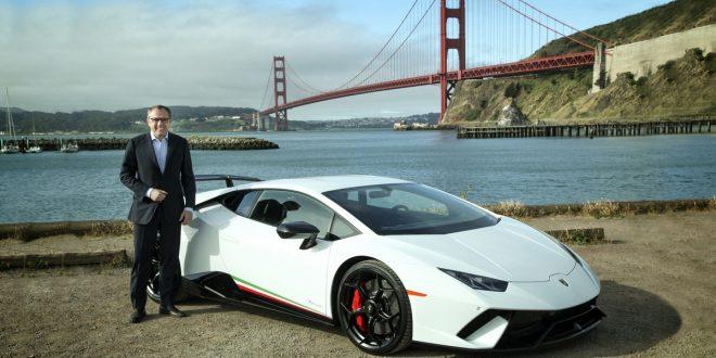 Lamborghini in California