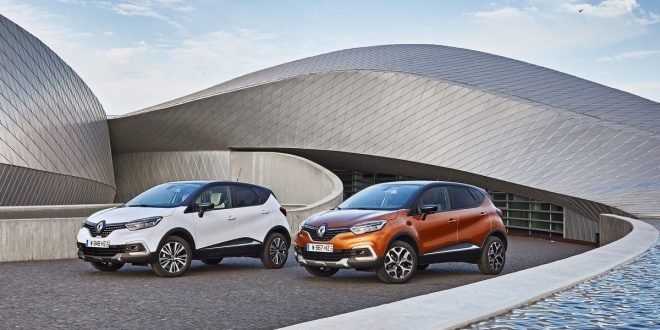 restyling di Renault Captur