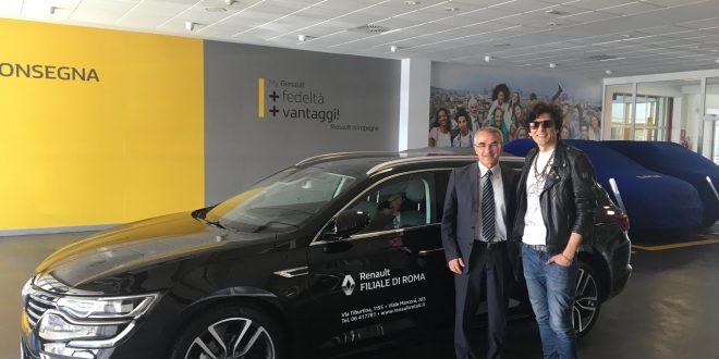 Ermal Meta sceglie Renault Talisman Sporter