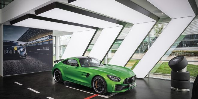 showroom di Mercedes-AMG