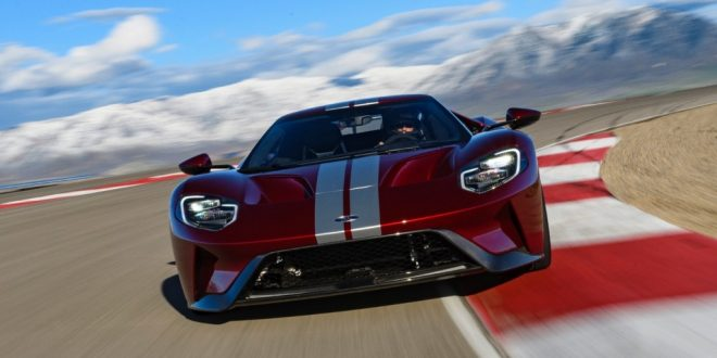 nuova Ford GT
