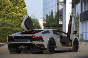 debutto della Lamborghini Centenario