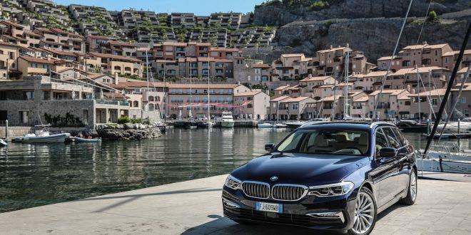 Nuova BMW Serie 5 Touring 2017 Prova su strada