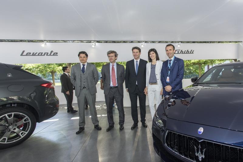 Maserati al Salone di Torino