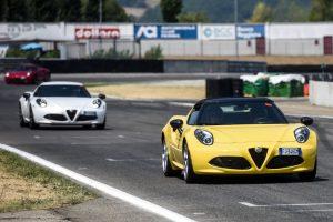 Raduno Alfa Romeo 4C