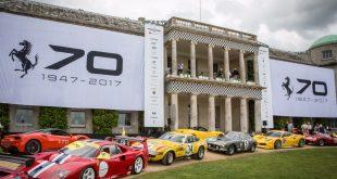 Ferrari al Festival of Speed