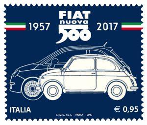 francobollo della Fiat 500