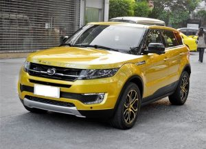 Landwind X7 copia evoque