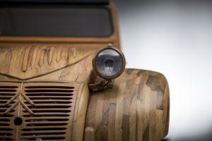 2CV in legno