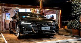 anteprima italiana di Audi A8
