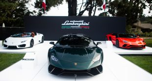 Lamborghini a Peeble Beach