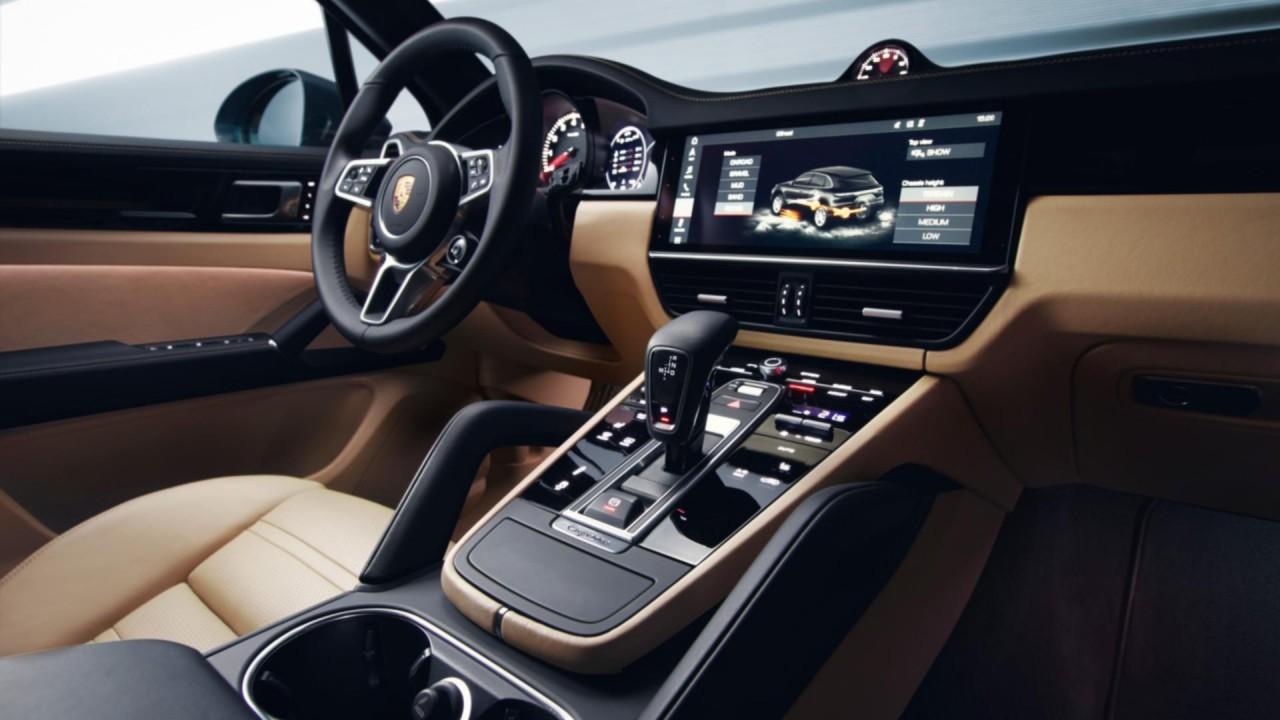 Interni nuova Porsche Cayenne 2018