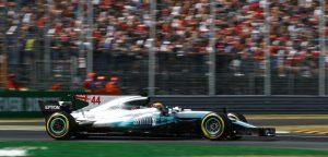 Hamilton F1 Monza