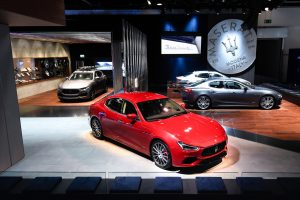 Maserati al Salone di Francoforte