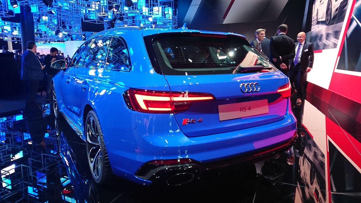 Nuova Audi RS 4