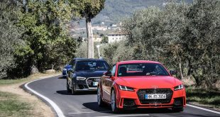 Audi Sport Road'n'Track con le nuove Audi RS 3, RS 5 Coupé e TT RS
