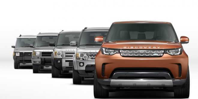 Land Rover Discovery storia