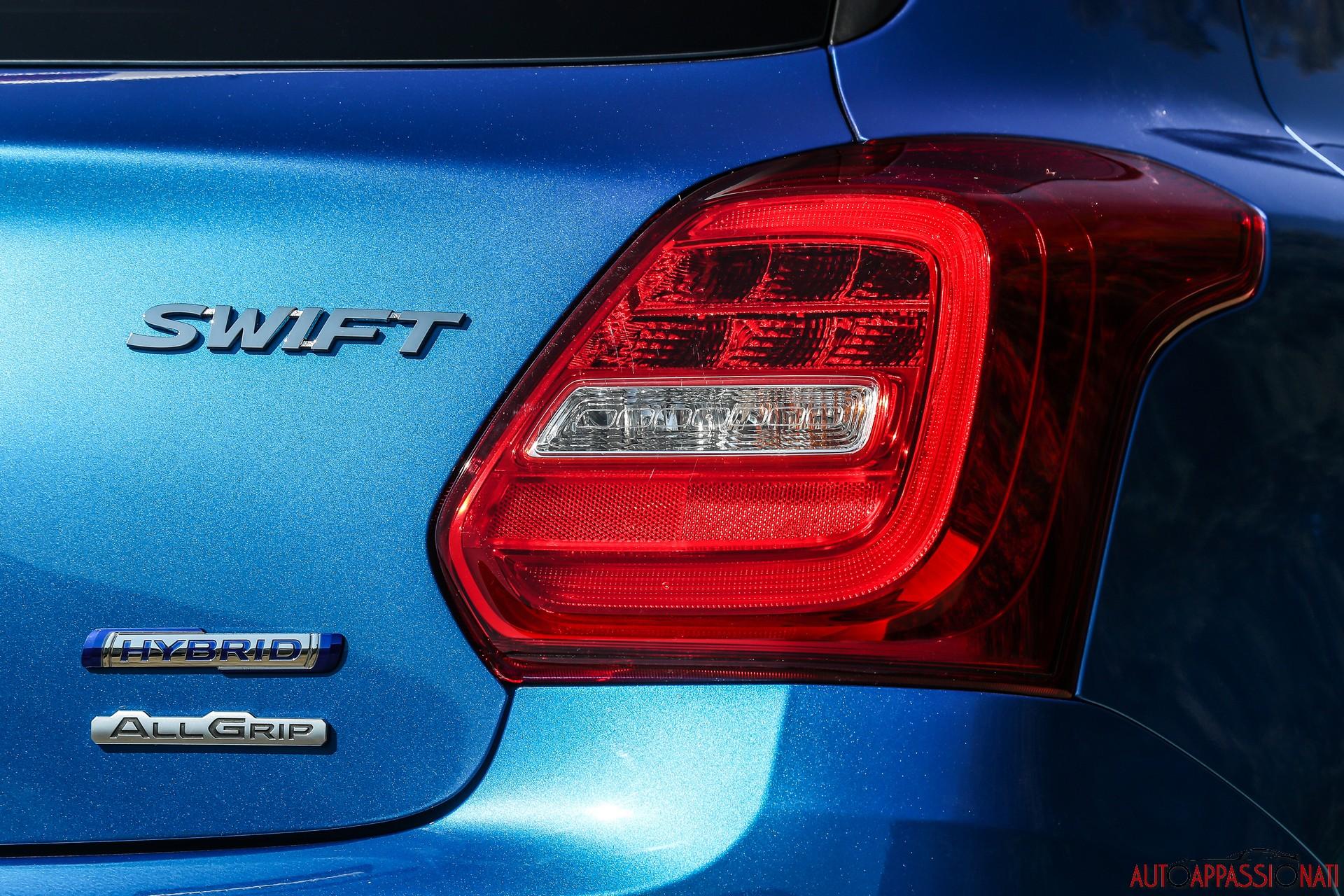Suzuki Swift 4x4 Hybrid
