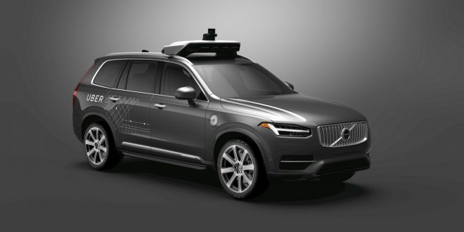 Volvo e Uber