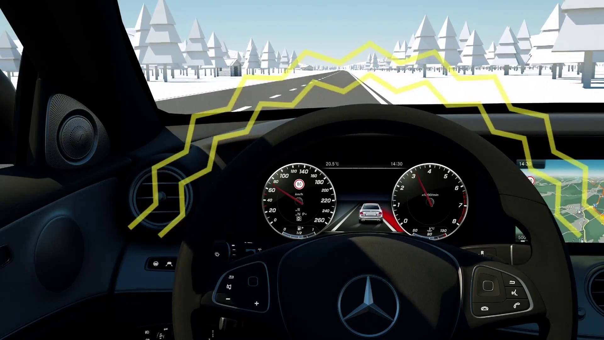 ADAS sistema assistenza alla guida