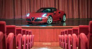 Alfa Romeo 4C prova