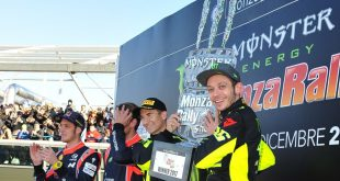 Monza Rally Show vince Valentino Rossi