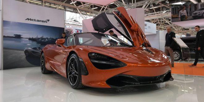 McLaren al Motor Show