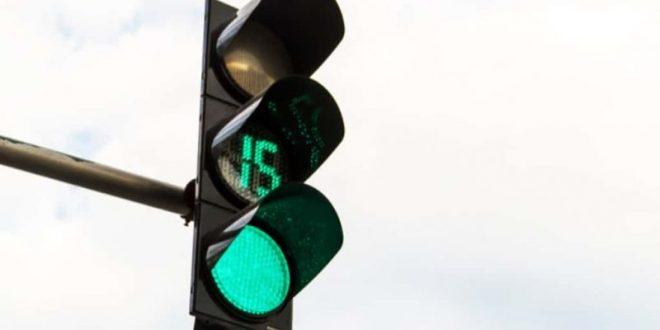 semafori con il conto alla rovescia