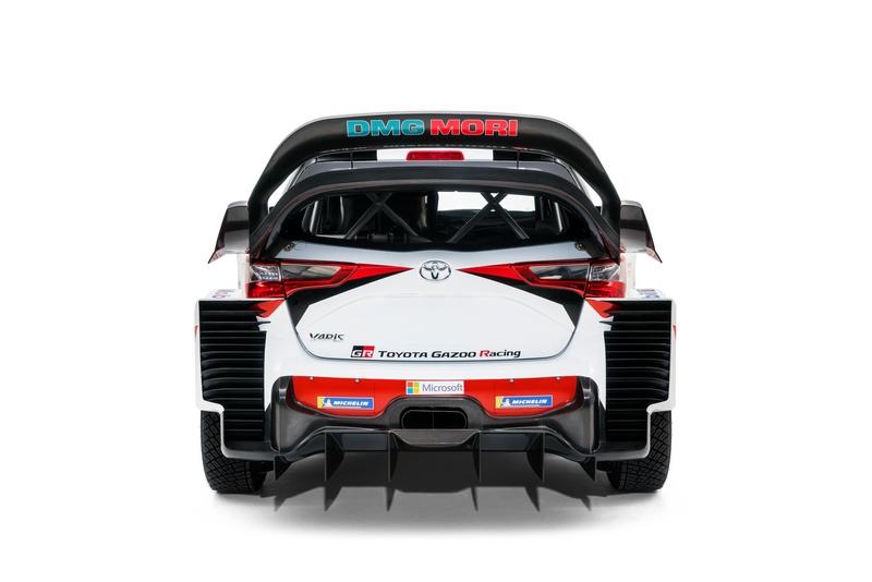 nuova Yaris WRC