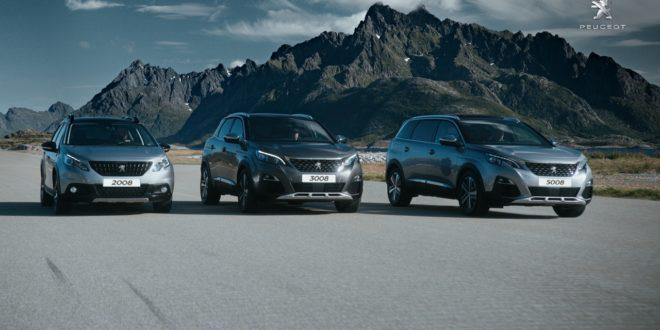 gamma SUV Peugeot
