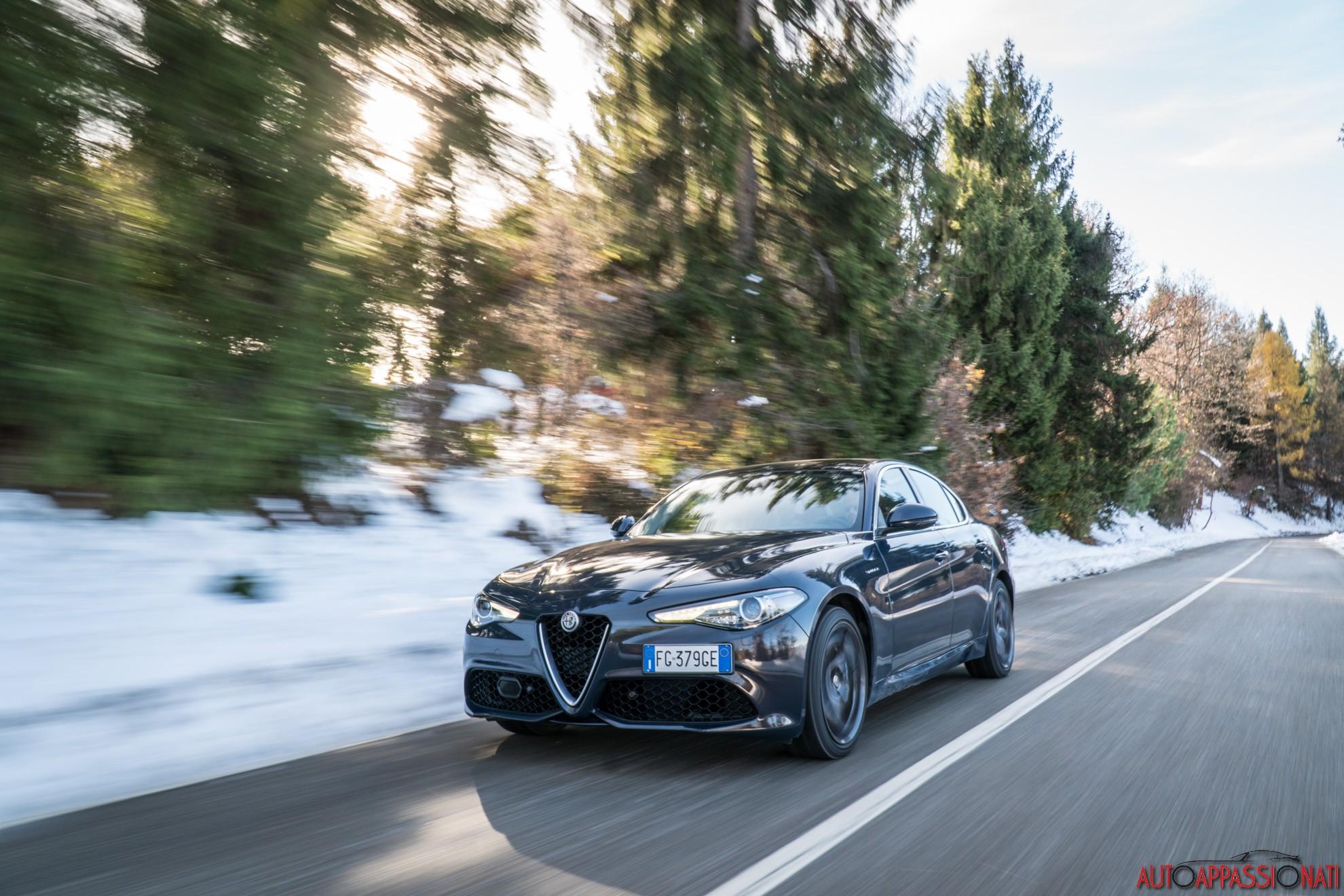 Alfa Romeo Giulia Veloce prova