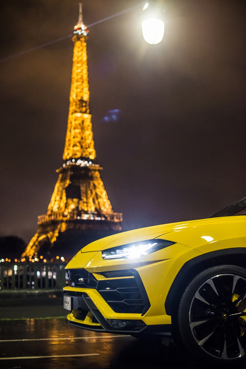 showroom Lamborghini