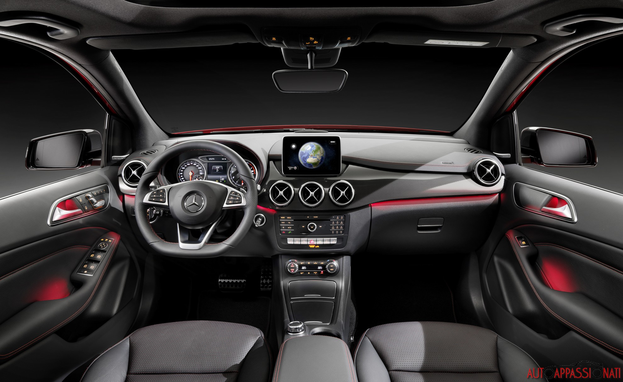 Mercedes Classe B Tech interni