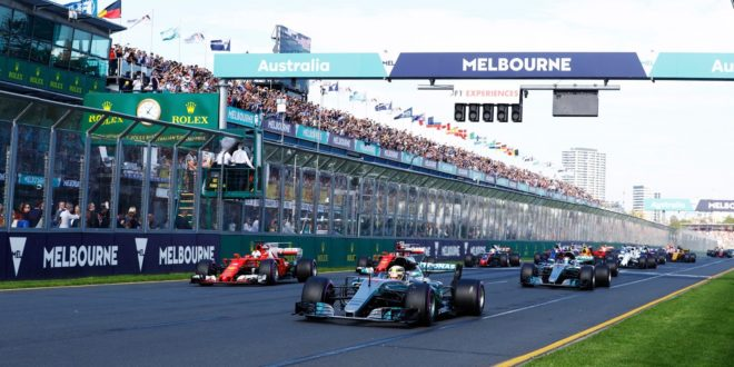 F1 2018 in tv