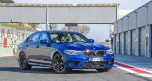 BMW M5 | Prova in pista